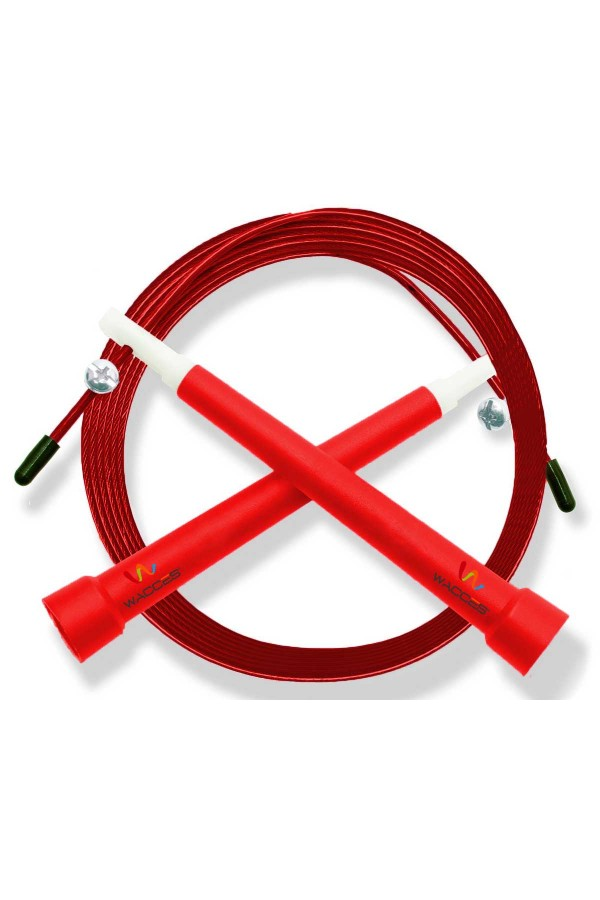 Pro Cable Jump Rope - Red
