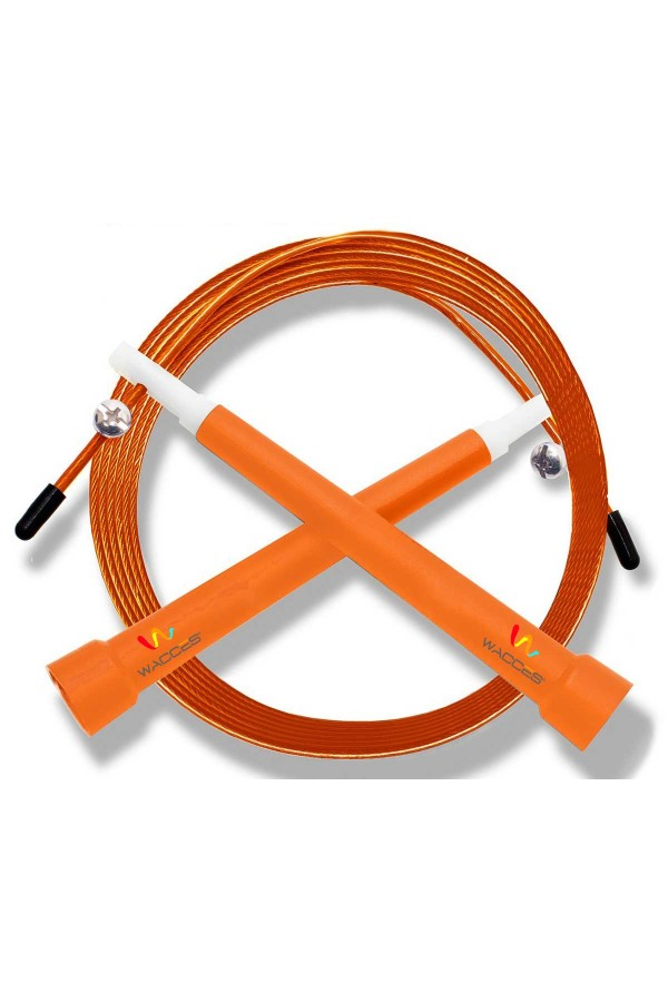 Pro Cable Jump Rope - Orange