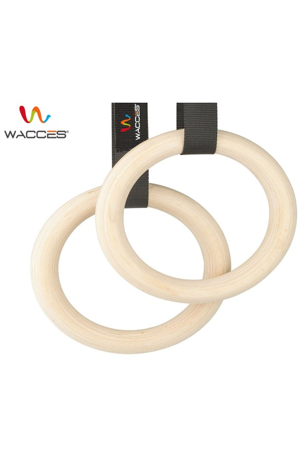 Gymnastics Exercise Rings - Wood