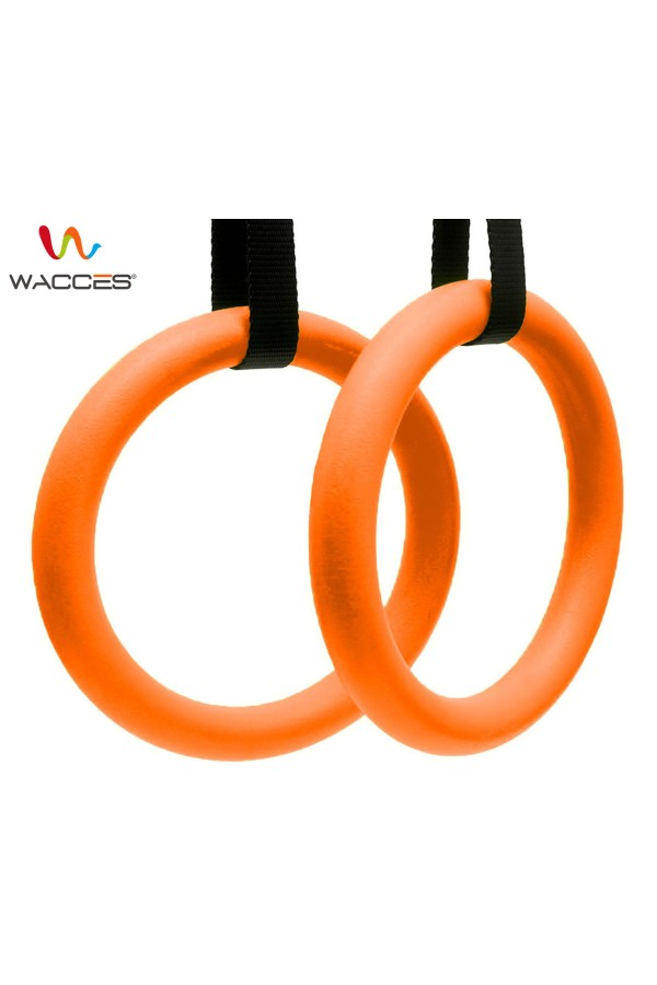 Gymnastics Exercise Rings - Orange