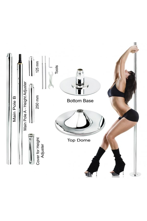 Wacces Dance Fitness Pole Silver