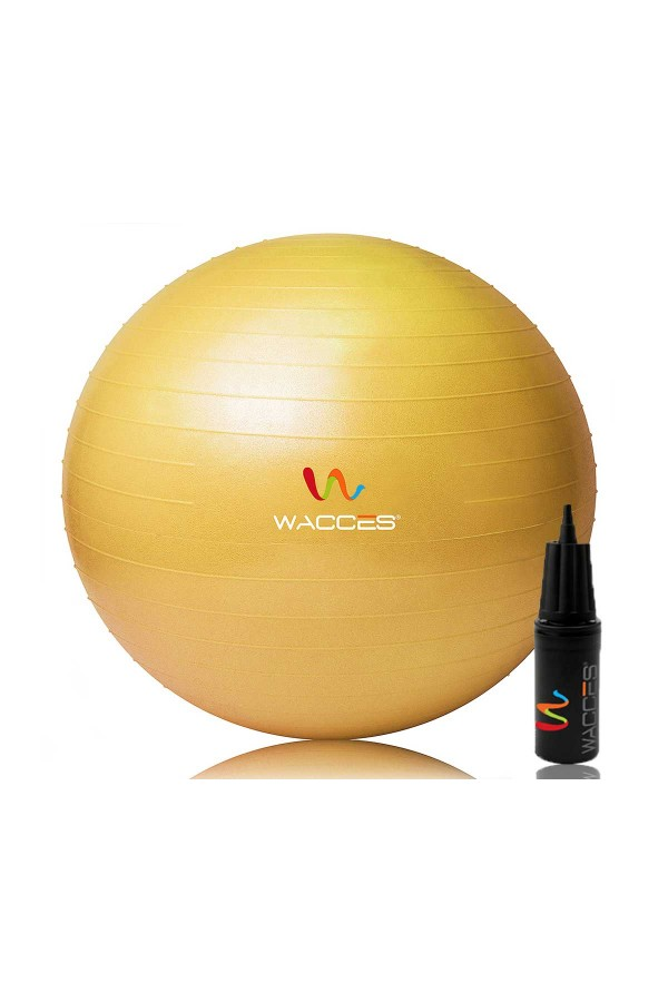 Yoga Fitness Ball - Yellow