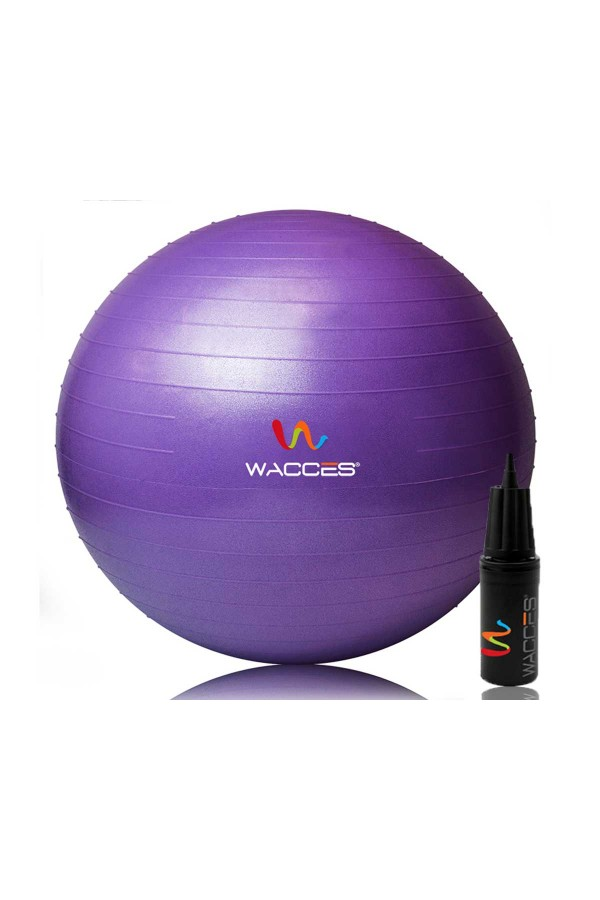 Yoga Fitness Ball - Purple