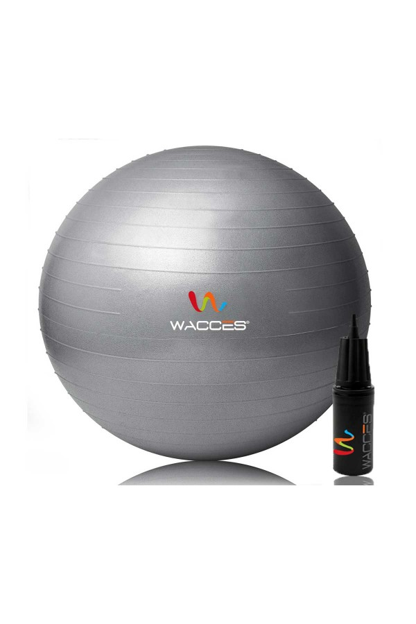 Yoga Fitness Ball - Grey