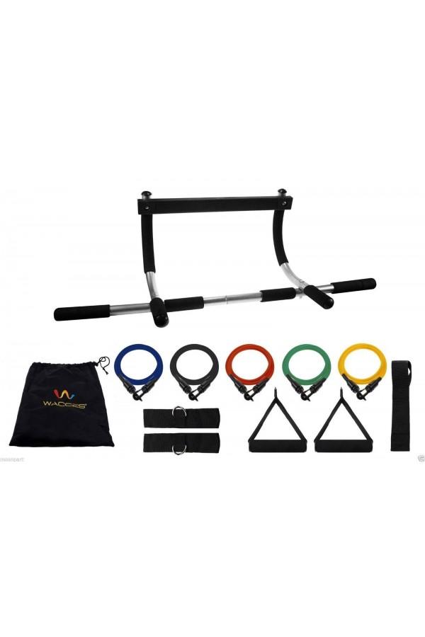 Pull Up & Chin Up Bar and Resistance Bands
