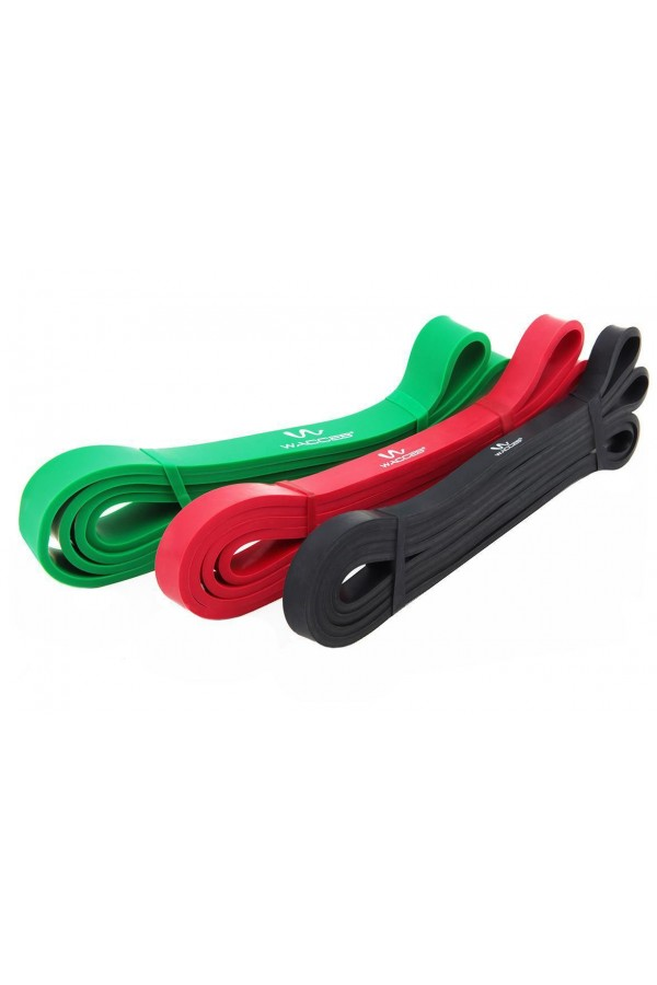 Body Building Resistance Band: Three (3) Piece Set