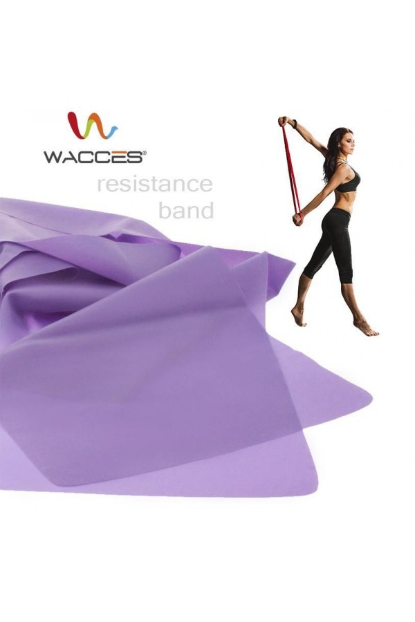 Pilates Resistance Bands: Set of Three (3)