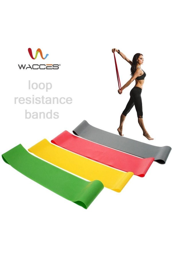 Four (4) Piece Resistance Loops Band Set
