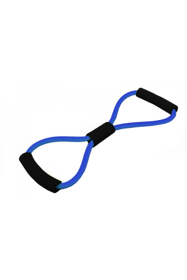 8-Shape Tube Resistance Band - Blue