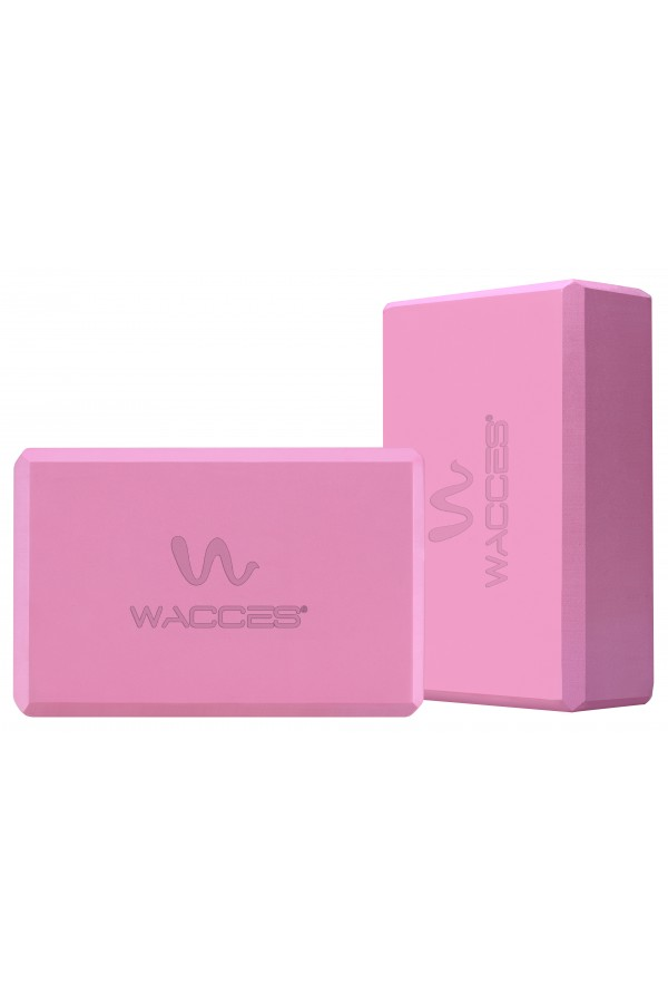 Yoga Block Set - Pink