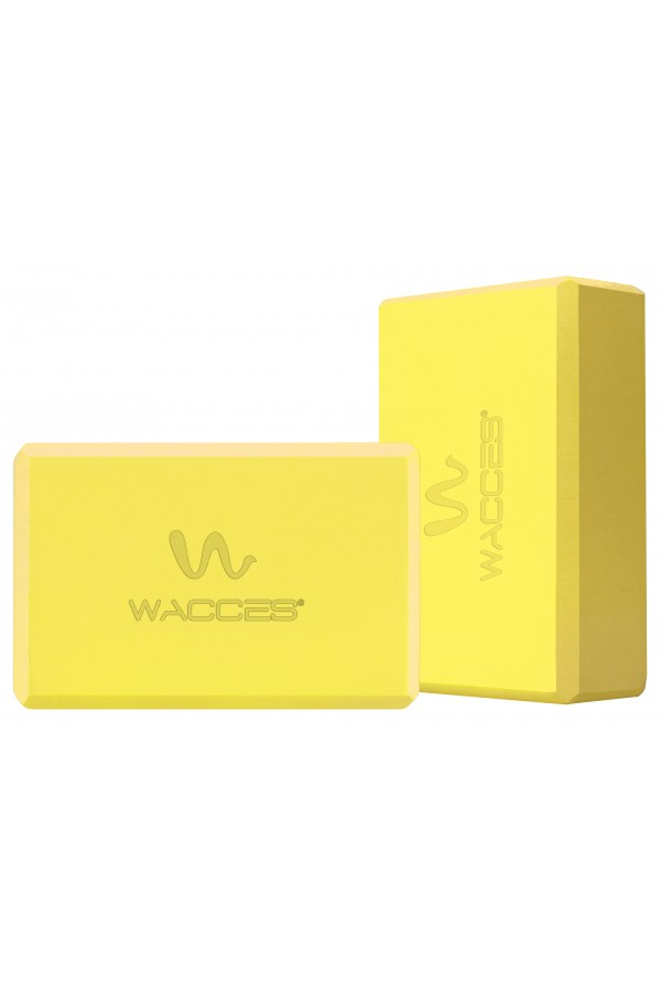 Yoga Block Set - Yellow