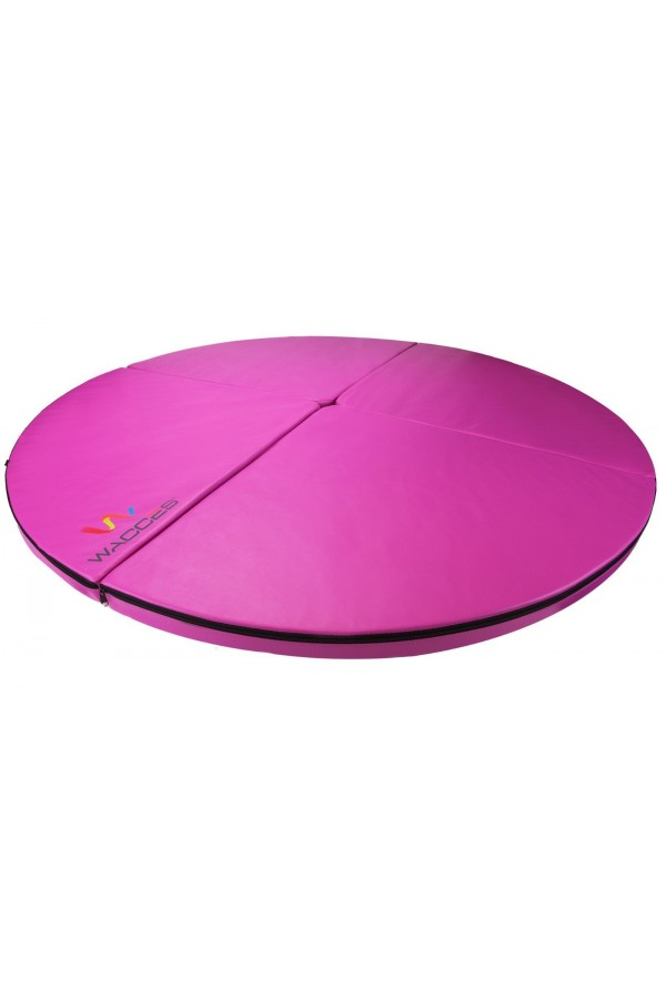 Wacces Folding Mat Dance Pole Exercise Crash Mat - Pink