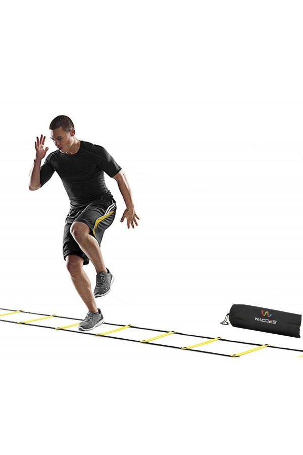 Agility Ladder - 12 Rungs - Yellow