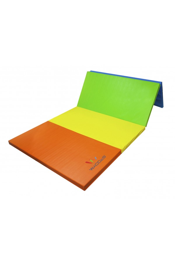Gymnastics Folding Mat  - Rainbow