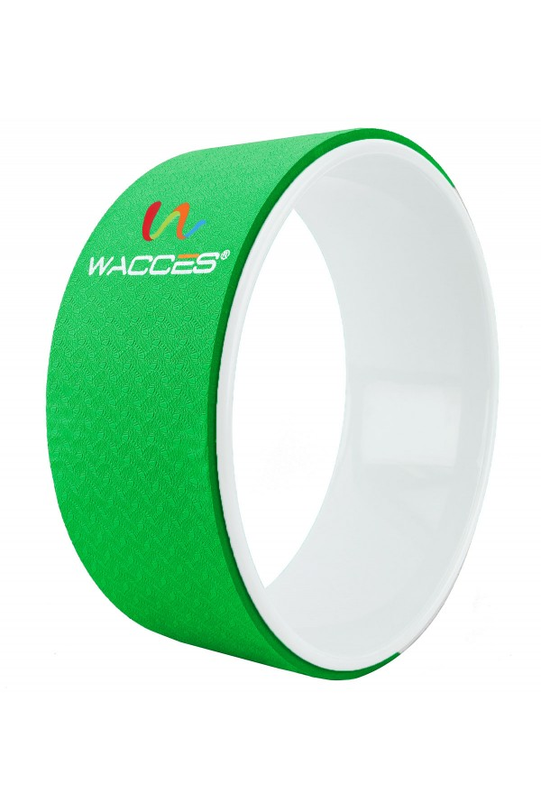 Yoga Wheel Balance Support - Green White