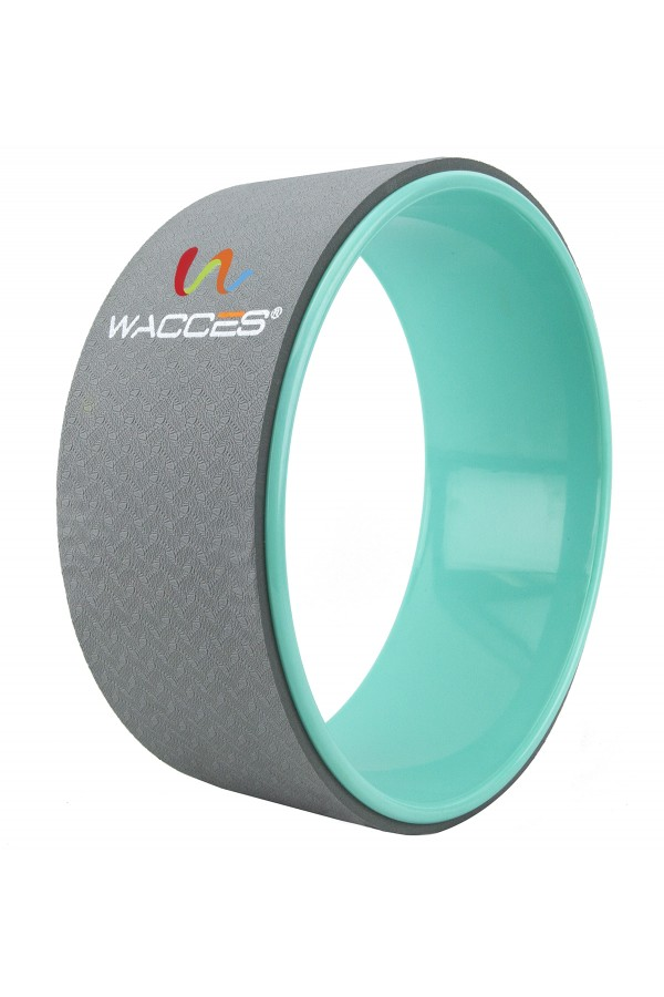 Yoga Wheel Balance Support - Gray Turquoise