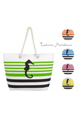 Sea Horse Canvas Tote Bag