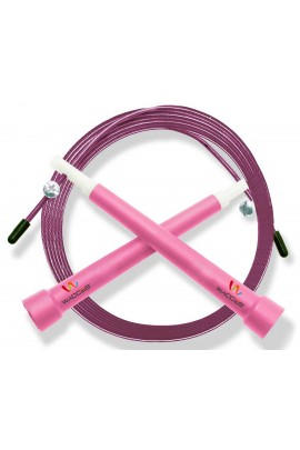 Pro Cable Jump Rope - Pink