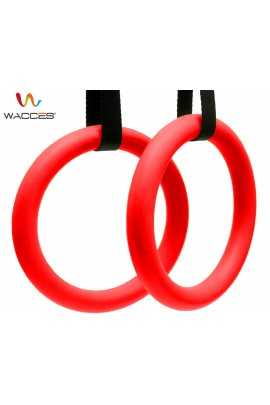 Gymnastics Exercise Rings - Red