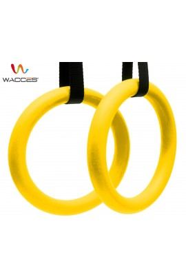 Gymnastics Exercise Rings - Yellow
