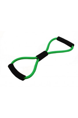 8-Shape Tube Resistance Band - Green