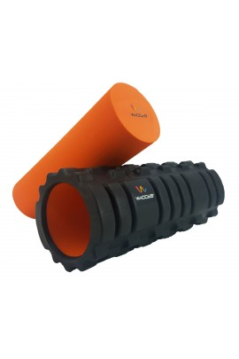 "Foam Roller  with EVA - 13"" Black"