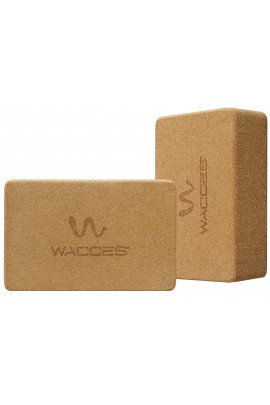 Yoga Block Set - Cork