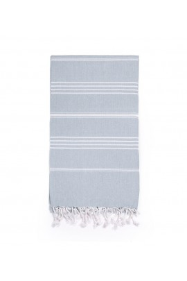 Peshtemal Turkish Towel Beach Cover-Up - Gray