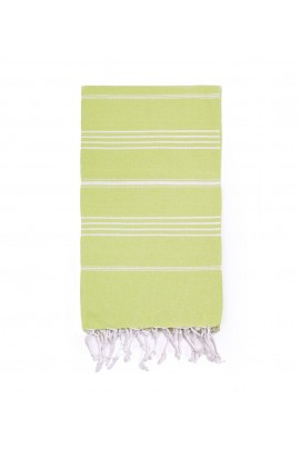 Peshtemal Turkish Towel Beach Cover-Up - Lime Green
