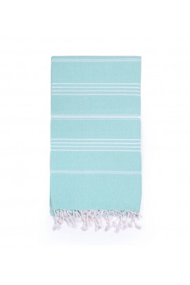 Peshtemal Turkish Towel Beach Cover-Up - Sky Blue