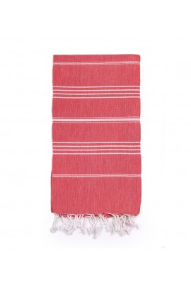 Peshtemal Turkish Towel Beach Cover-Up - Red