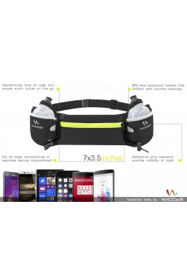 Hydration Running Belt - Black