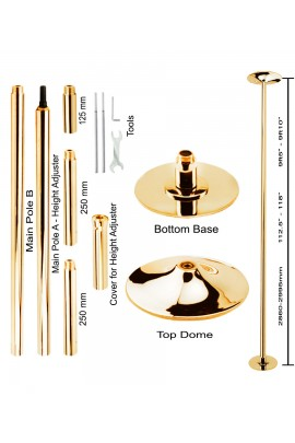 Wacces Dance Fitness Pole Gold