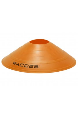 Agility Disc Cones with Transportaion Caddy - Orange