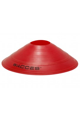 Agility Disc Cones with Transportaion Caddy - Red