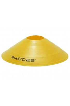 Agility Disc Cones with Transportaion Caddy - Yellow