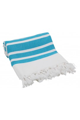 Eshma Mardini Luxury Turkish Cotton Peshtemal for Beach, Bath, Pool...etc. - Turquoise