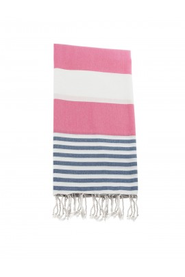 Peshtemal towel cover-up,  - Pink - Blue
