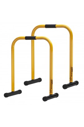 Functional Fitness Station Stabilizer Dip Bar - Yellow