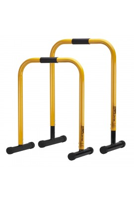 Functional Fitness Station Equalizer Dip Bar - Yellow