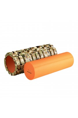 "Foam Roller  with EVA - 13"" Military"