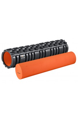 "Foam Roller  with EVA - 24"" Black"