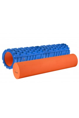 "Foam Roller  with EVA - 24"" Blue"