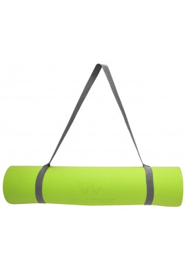 Fitness Yoga Mat - Orange/Green