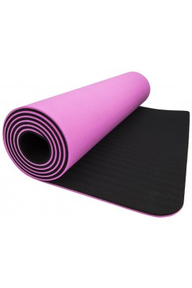 Fitness Yoga Mat - Pink/Black