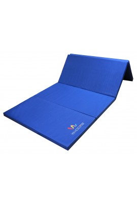 Gymnastics Folding Mat - Blue