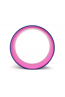 Yoga Wheel Balance Support - Blue Pink