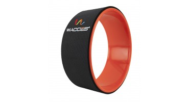 Yoga Wheel Balance Support - Black Orange