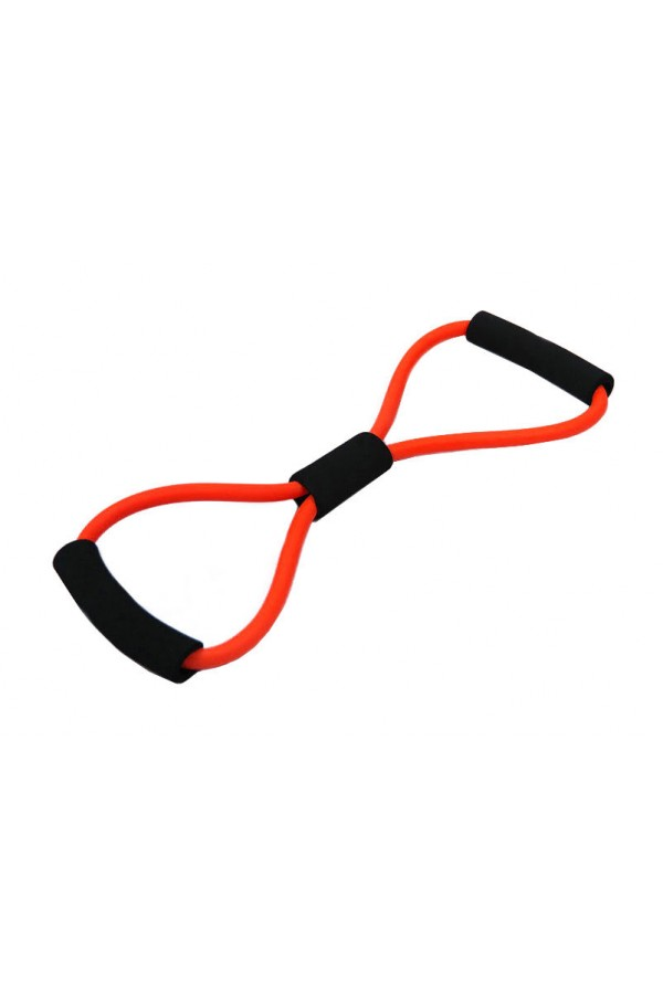 8-Shape Tube Resistance Band - Red