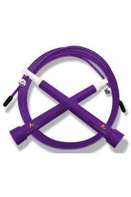 Pro Cable Jump Rope  - Purple